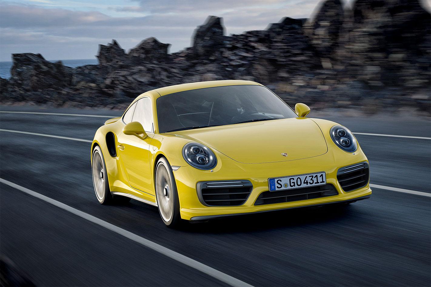 Porsche -911-Turbo -S-front