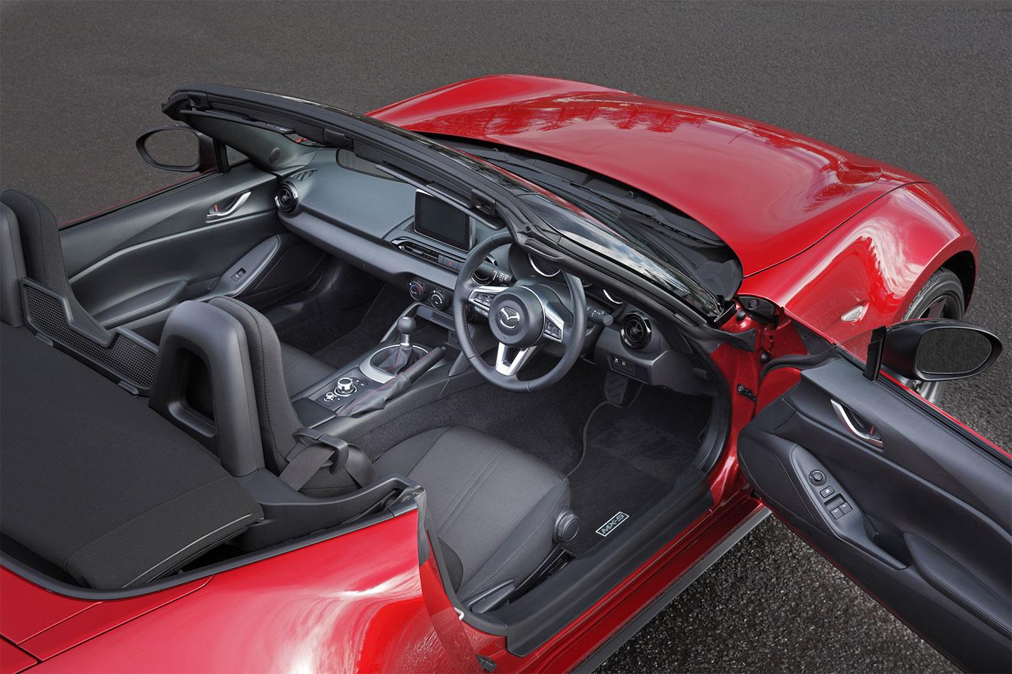 Mazda -MX-5-2.0-litre -interior