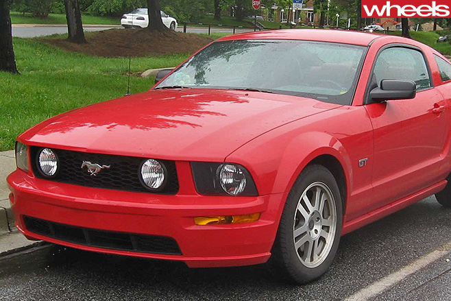 Ford -Mustang -front -sidde