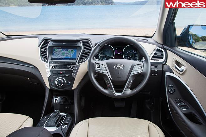 Hyundai -Santa -Fe -interior
