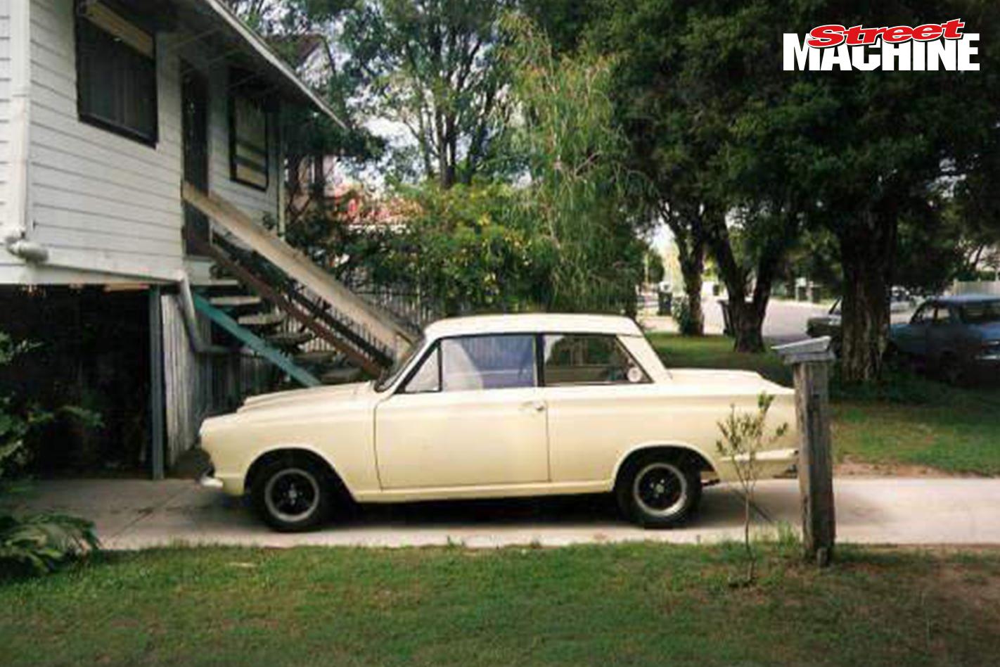 Brett Ebb MKI Ford Cortina