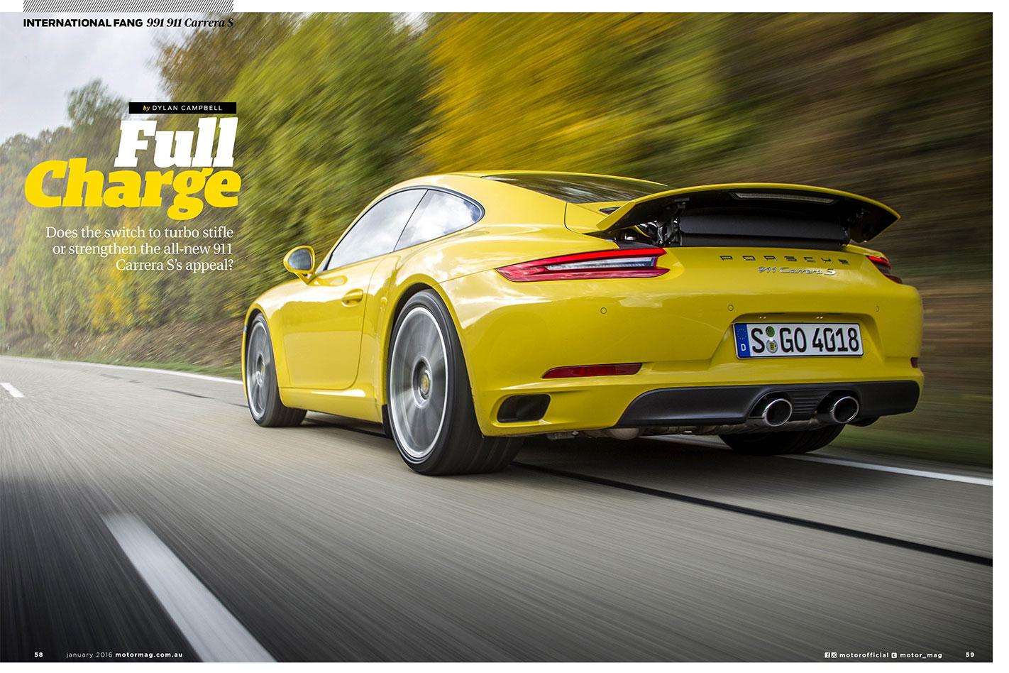 MOTOR-February -2016-Porsche -991-Carrera