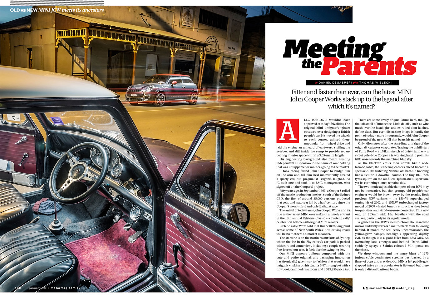 MOTOR-February -2016-MINI-old -and -new