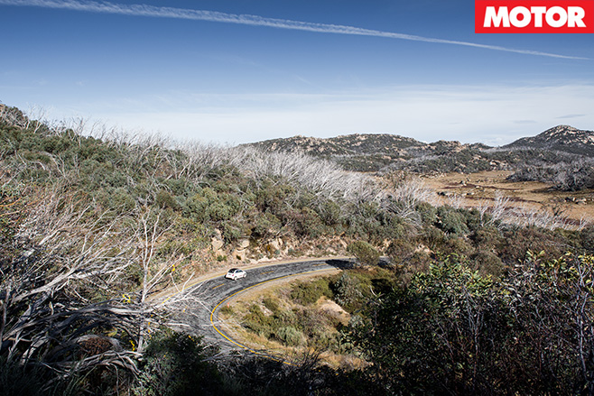 Abarth rally scenery