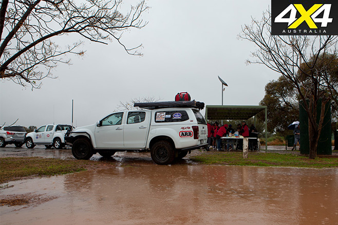 Drive 4 Life Outback NSW rain