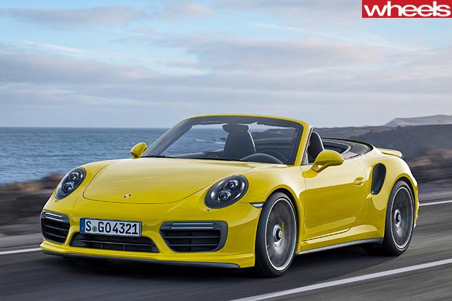 Porsche -911-Turbo -Front -Side