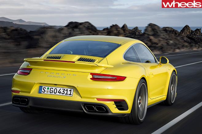 Porsche -911-Turbo -rear -side