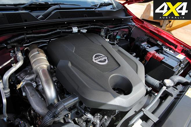 Nissan navara sprung engine