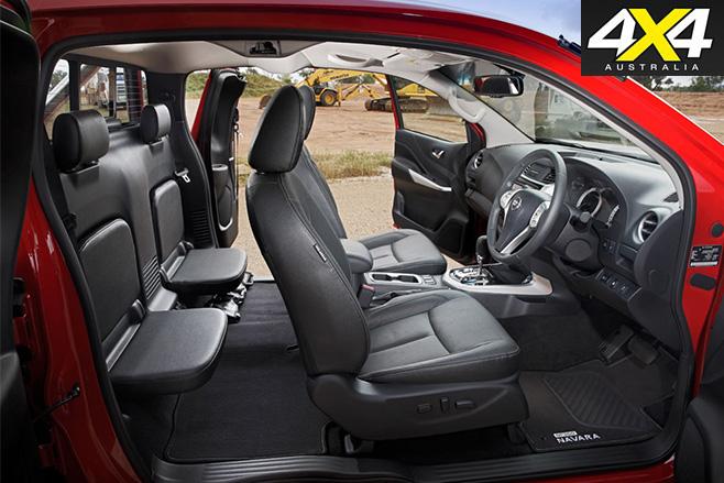 Nissan navara sprung interior