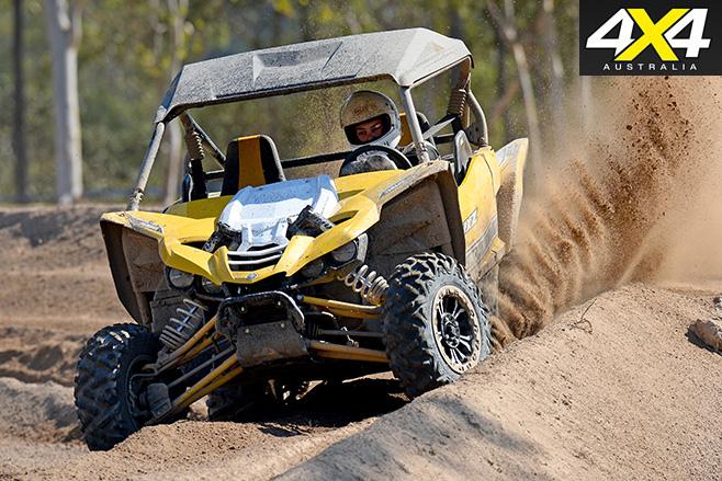 Yamaha YXZ1000R dirt