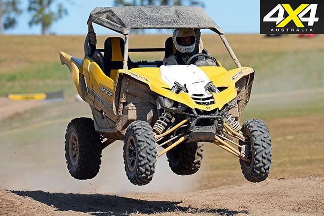 Yamaha YXZ1000R jump