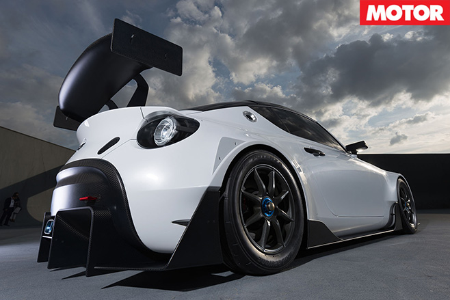 Toyota reveals S-FR-Racing Concept rear