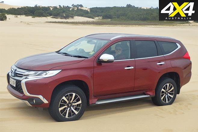 Mitsubishi -Pajero -Sport -side