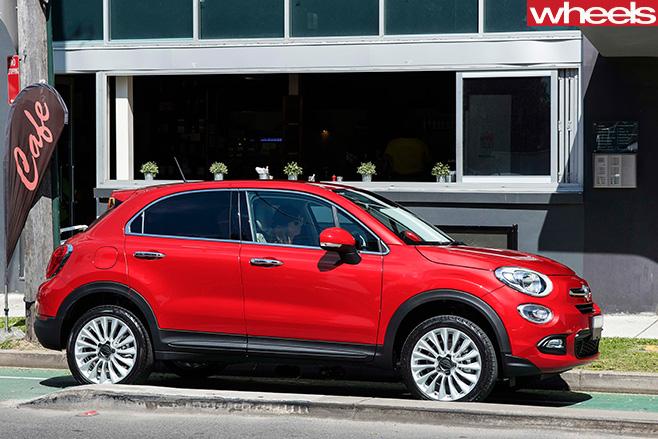 Fiat -500x -side
