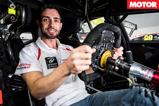 Nissan GT Academy winner Matt Simmons to race 4