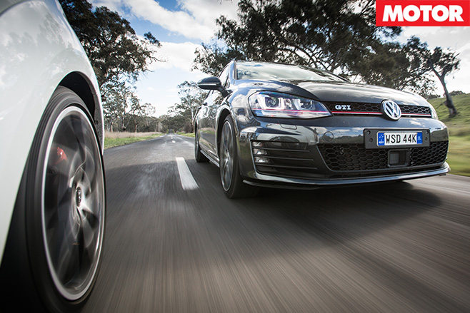 Golf gti performance v megane