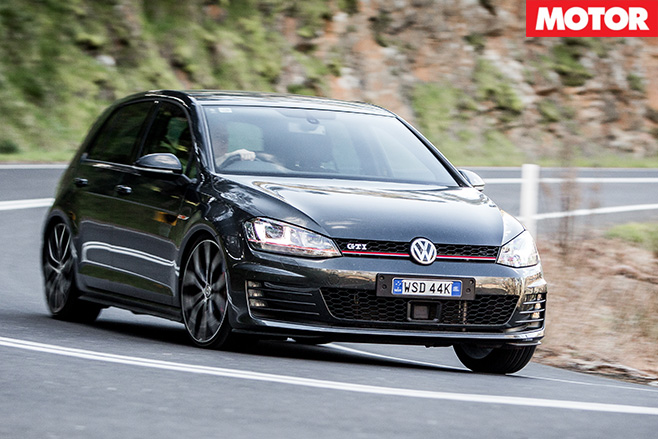 Golf GTi Performance driving
