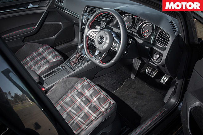 Golf GTi Performance interior