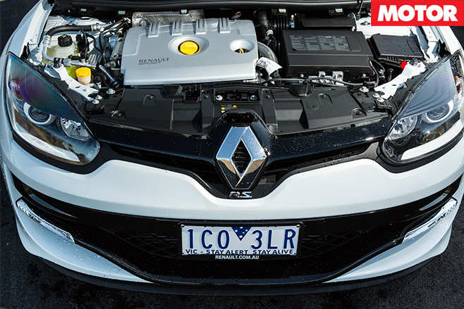 Megane RS265 engine