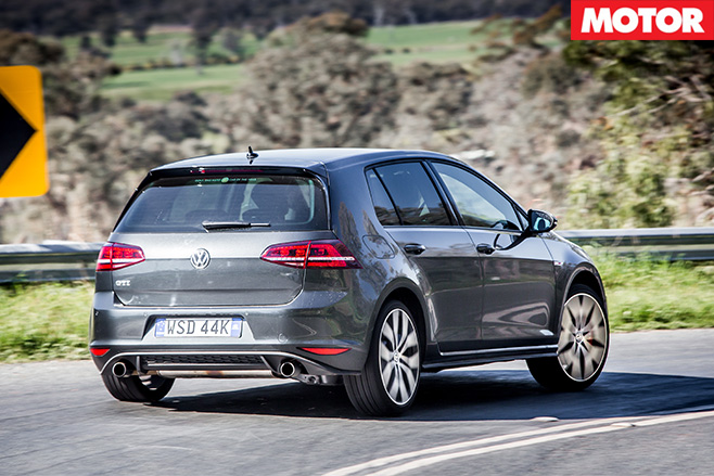 Golf GTi Performance rear