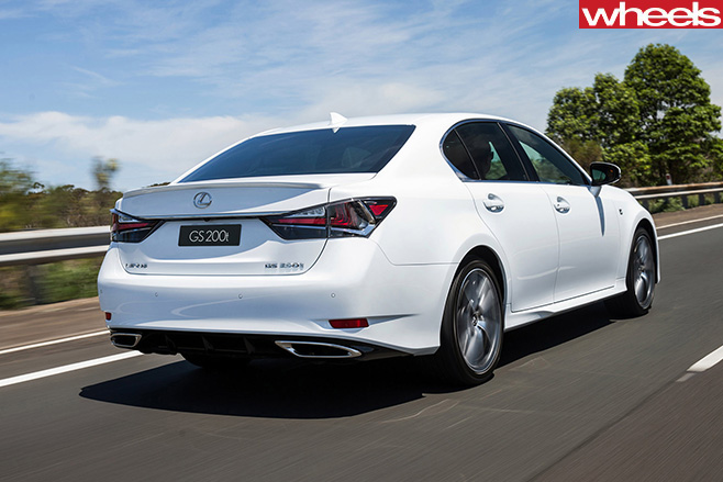 Lexus -gs 200t -rear