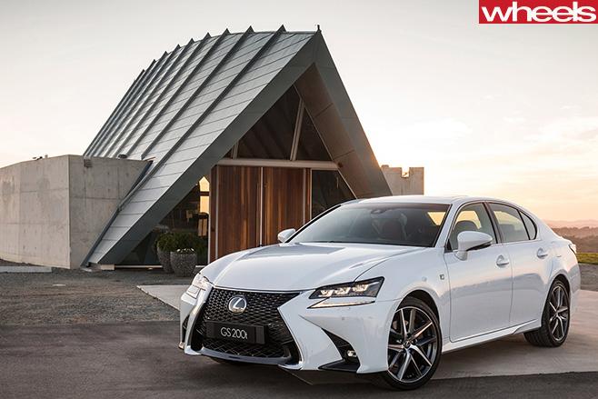 Lexus -gs 200t -front