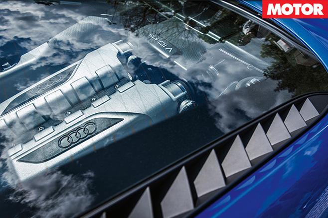 Audi R8 LMX engine