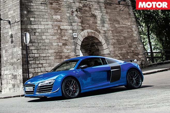 Audi R8 LMX side