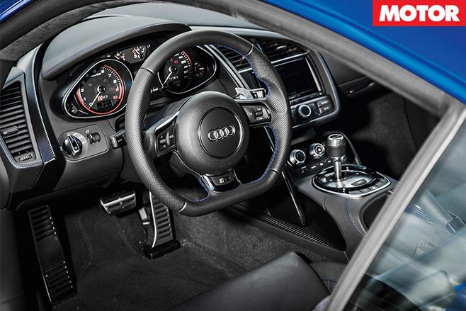 Audi R8 LMX interior