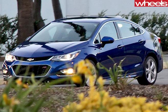 Chevrolet -Cruze -front