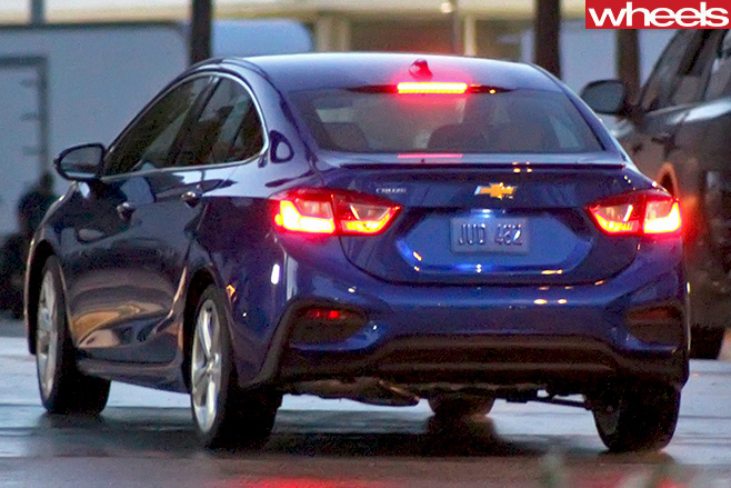Chevrolet -Cruze -rear