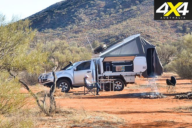 Googs track sa camping