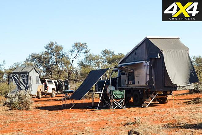 Googs track sa campsite