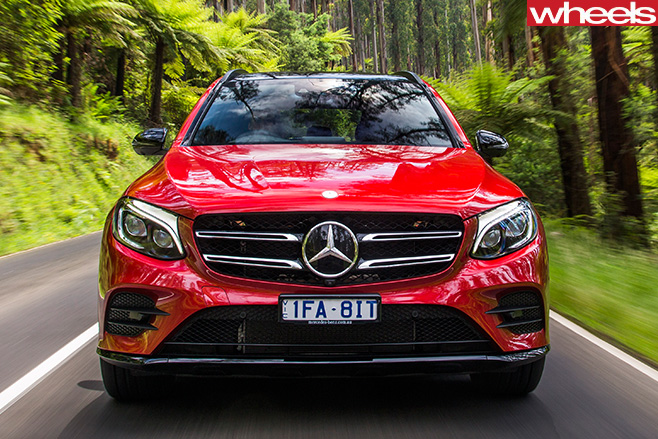 Mercedes -Benz -GLC-front -straight