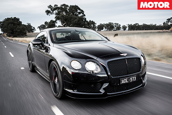 Bentley Continental V8 S