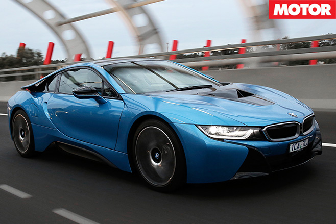 Bmw i8 aussie drive lights