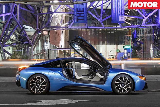 Bmw i8 aussie drive main doors