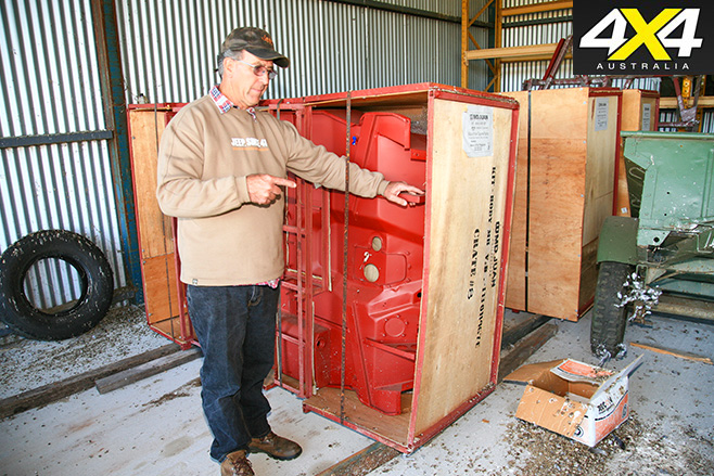 Crates for shipping
