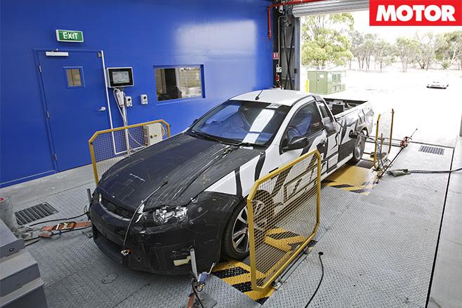 Ford dyno test