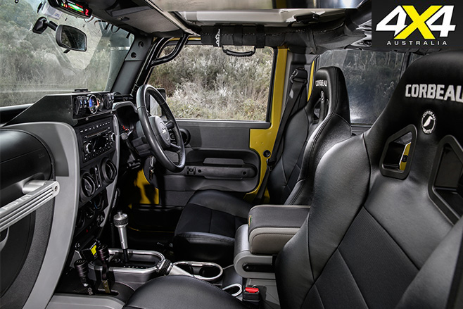 Custom jeep wrangler unlimited interior