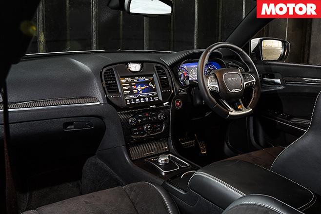 SRT interior