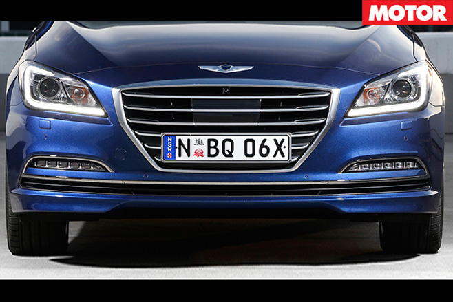 Hyundai genesis front