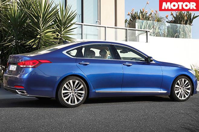 Hyundai genesis rear
