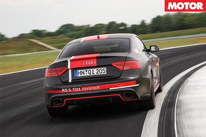 Audi RS5 TDI Concept rear