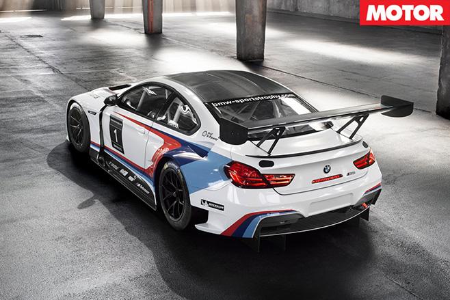 BMW m6 gt3 rear