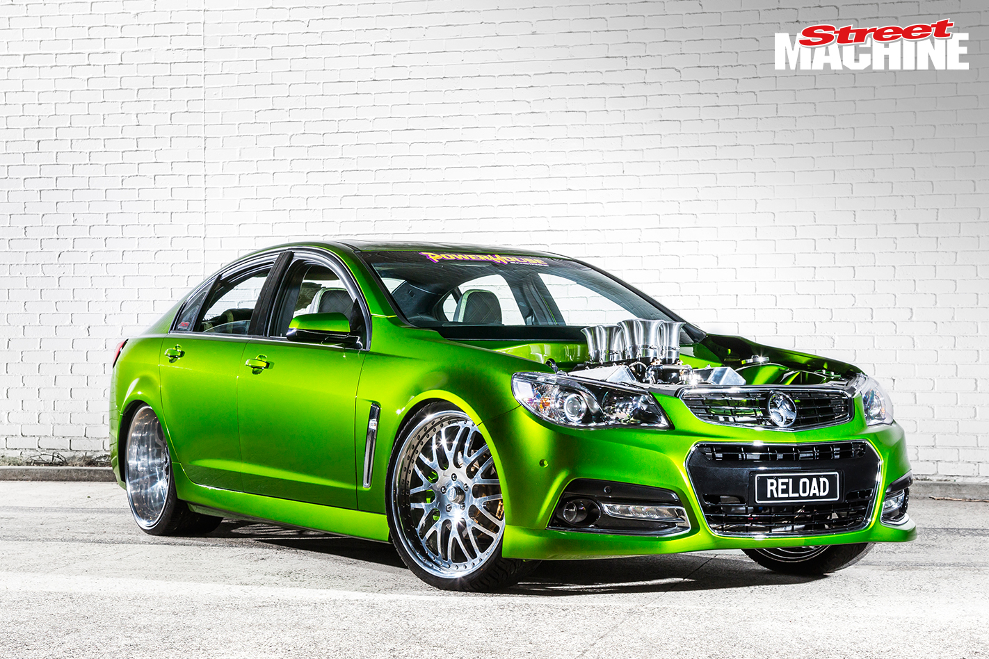532 Cube Holden Vf Commodore Reload Street Machine