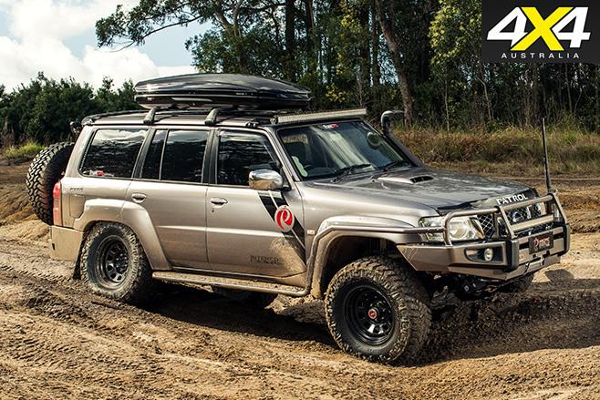 Nissan Patrol military V8