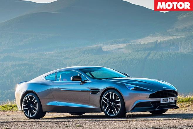 Aston Martin Vanquish S side