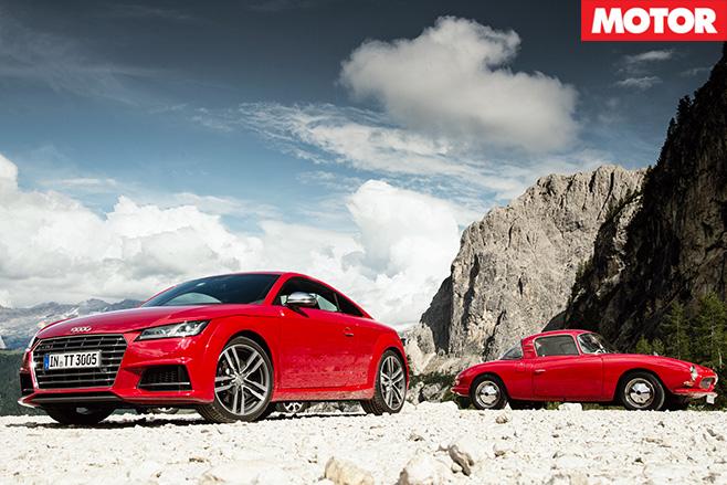 Audi tts vs dkw monza coupe still