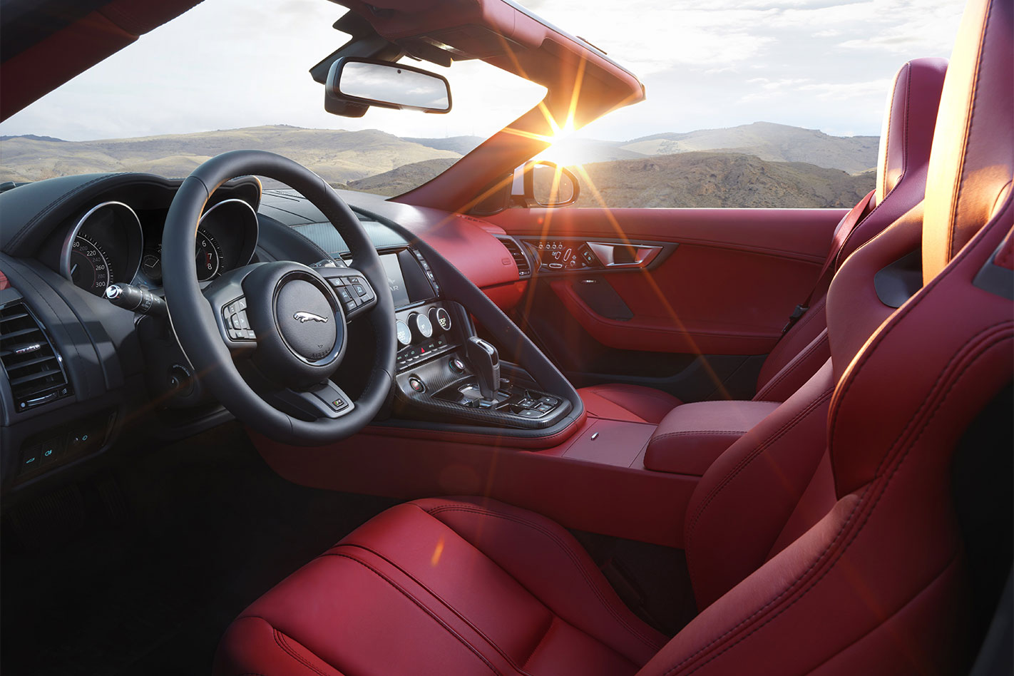 Jaguar -MY16-F-Type -R-interior